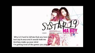 Sistar19 - Ma Boy Cover (English Version) Mp3