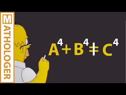 Euler's And Fermat's Last Theorems, The Simpsons And CDC6600