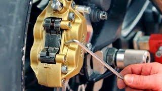 Замена Тормозных Колодок на Мотоцикле