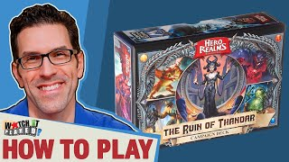 Hero Realms Campaign - Ruin of Thandar - How To Play