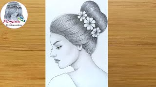 bun messy drawing draw sketch pencil step drawings sketches anime easy hairstyles simple manga