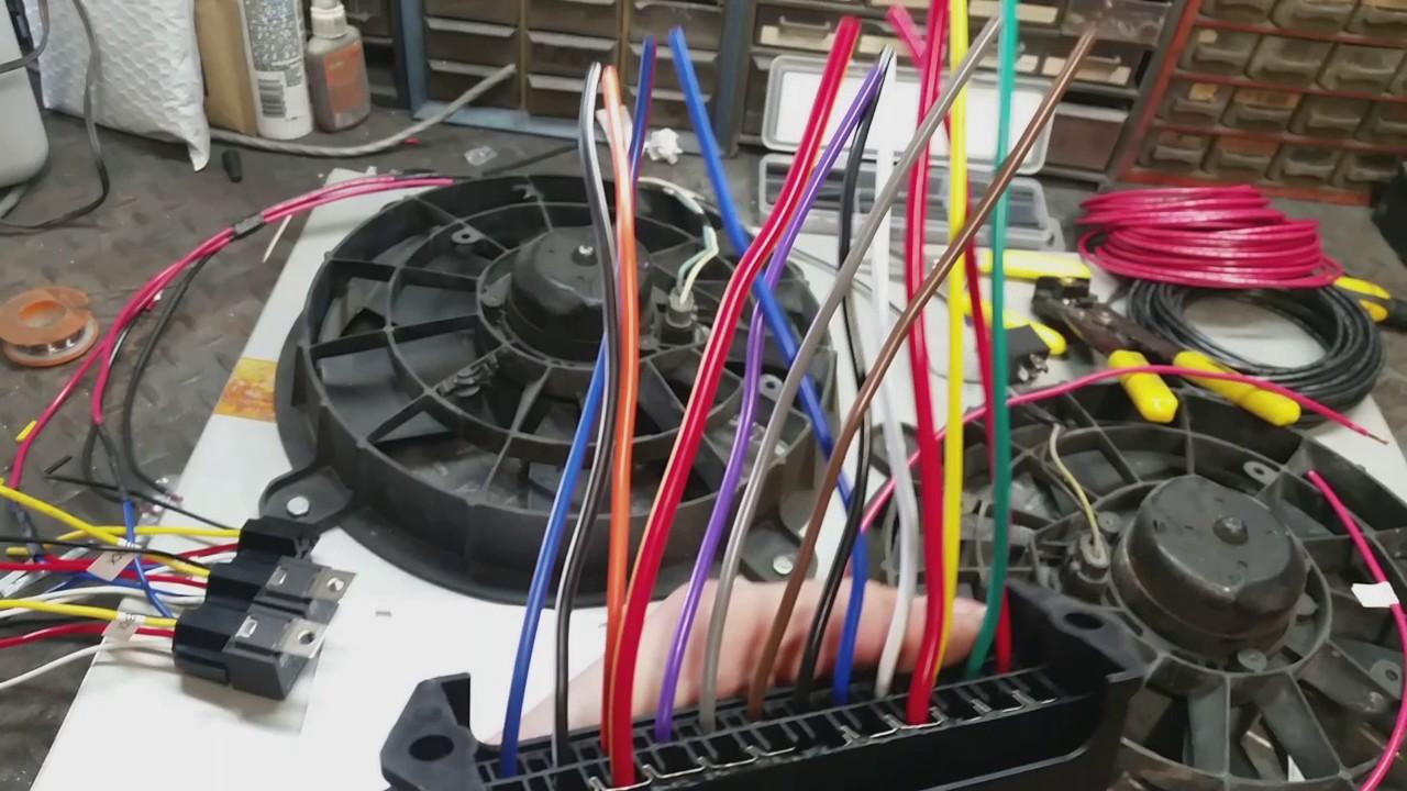C10 Project Ls Swap Part 11 Dual Fan Harness