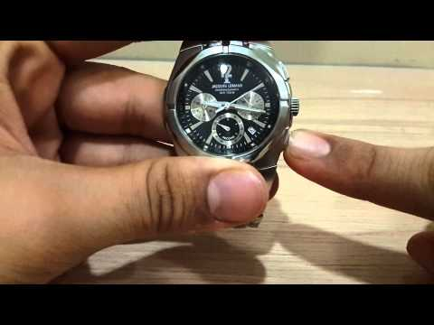 How to use the chronograph function in a watch.