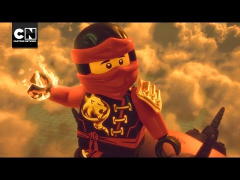 Up In Flames | Ninjago | Cartoon Network