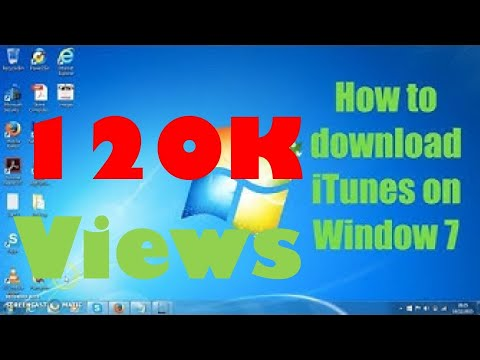 How to download iTunes on Window 7