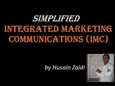 SIMPLIFIED Integrated Marketing Communications (IMC)