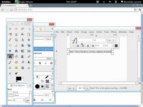 GTK+ 3 2 Released With HTML5 (Allows Applications To Run In