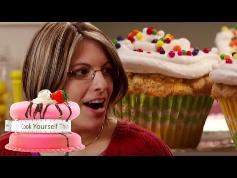 How To Make Low Calorie Cupcakes | Cook Yourself Thin USA S1 EP5 | Weight Loss Show Full Episodes