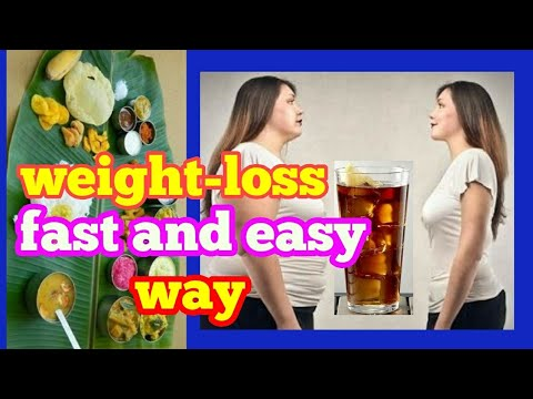 how to lose weight fast and esy way _ best method_in Telugu tips