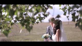 Красивый свадебный клип Жени и Нади. Романтическая и нежная свадьба в Луганске.