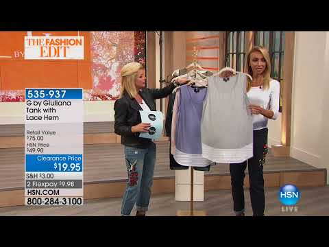 HSN | G by Giuliana Rancic Fashions 10.11.2017 - 06 PM