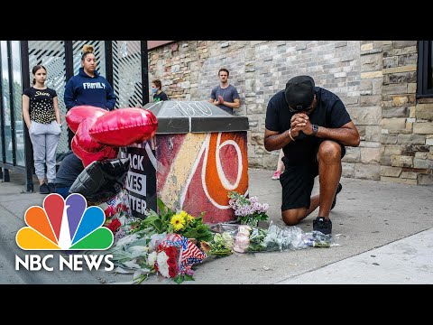 Protesters Gather In Minneapolis Where George Floyd Was Killed | NBC News NOW