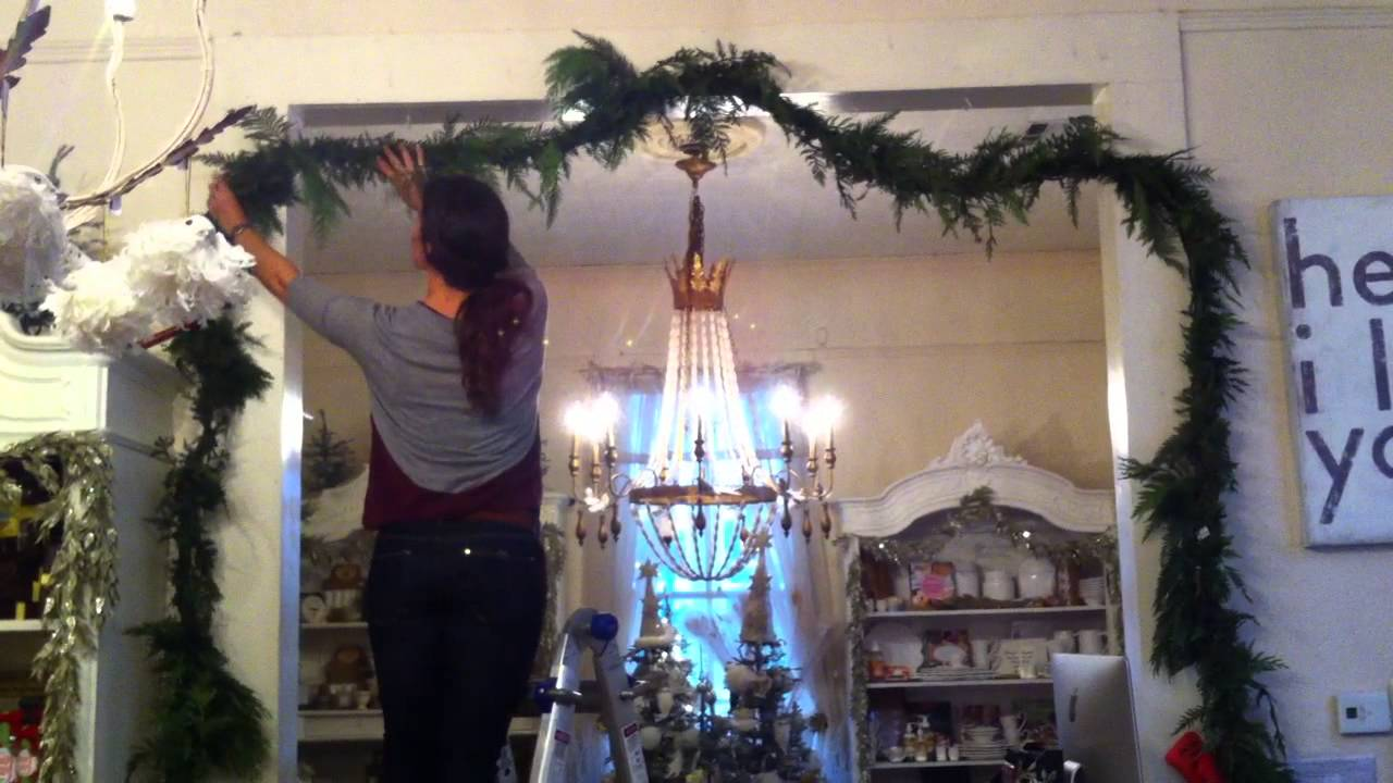 How To Hang The Perfect Fresh Cedar Garland