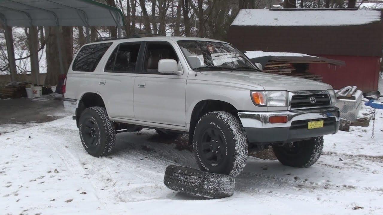 Lifted 4 Runner >> 1998 Toyota 4Runner Startup - YouTube
