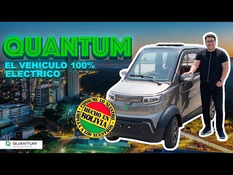Quantum E3 el vehículo eléctrico Boliviano-  Review en Español