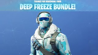 Fortnite Deep Freeze Bundle Preview