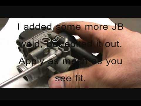 KTM 50 Carb Tab Fix