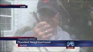 Hurricane Sandy: Liz Palka reports from Larchmont