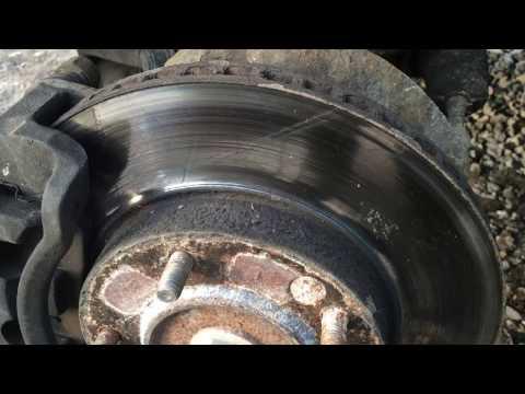 KIA Sorento. Замена тормозных дисков.