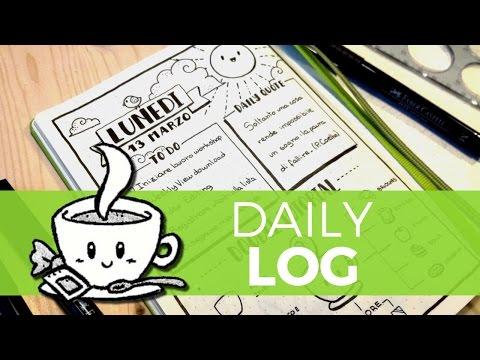 Daily Log - La mia giornata in una pagina
