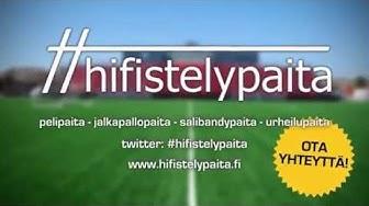 Hifistelypaita | pelipaita | jalkapallopaita | salibandypaita | urheilupaita