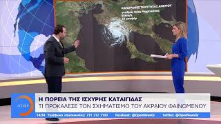 Χαλκιδική: Η πορεία της ισχυρής καταιγίδας - Μεσημεριανό Δελτίο 11/7/2019 | OPEN TV