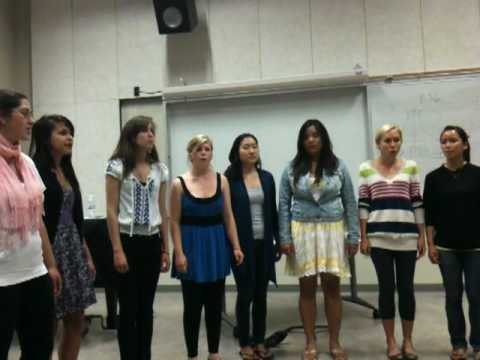 """UCSD, The Treble Singers """"Mad World"""" .MOV"""