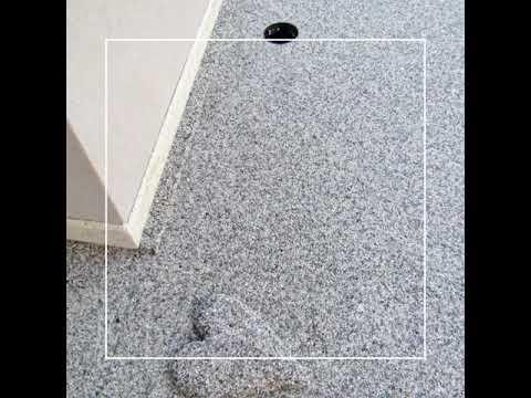 Pavimento In Resina, Esterno In Ghiaino / Resin Floor, Gravel Exterior