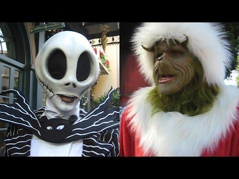 Jack Skellington vs The Grinch 2011