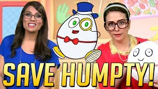 Saving Humpty Dumpty: A Cool School Nursery Rhyme & Craft W/ Ms. Booksy & Crafty Carol