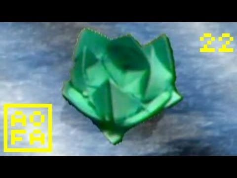 Origami Water Lily Youtube
