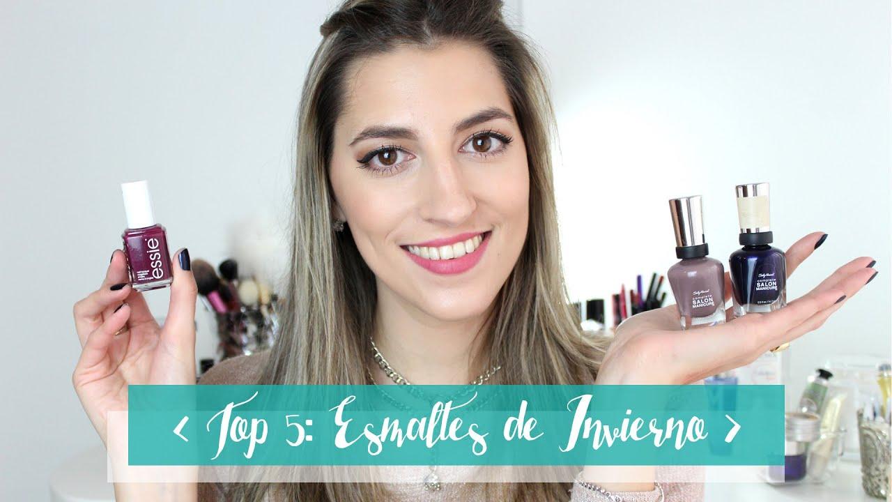 ♥ TOP 5: Esmaltes ideales para usar en Invierno - I\'m Karenina TV ...