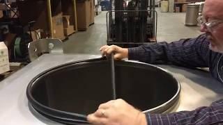 EPDM Multiseal Gasket Installation