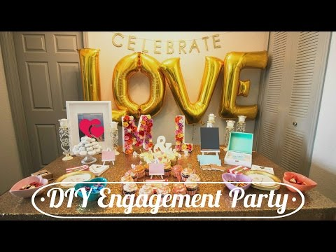 How to DIY your own Engagement Party for less!