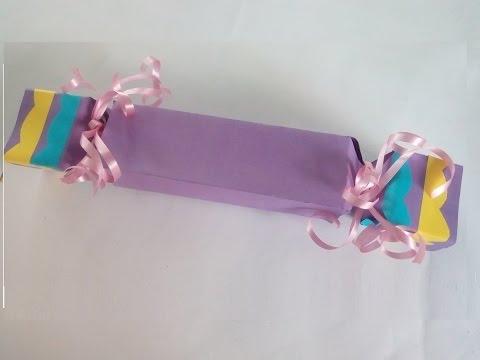 diy geschenkbox verpackungsschachtel kleine geschenke kreativ verpacken youtube. Black Bedroom Furniture Sets. Home Design Ideas