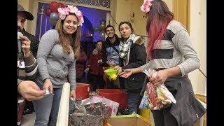 Festejo del Día del Niño en el barrio Sur