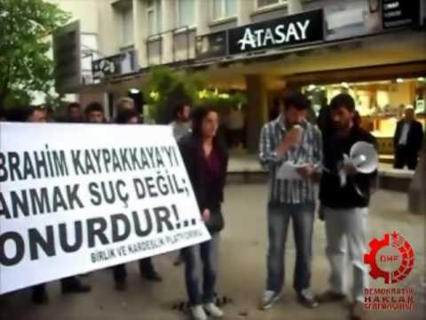 DHF - Komünist Önder İbrahim Kaypakkaya Denizli'de Anıldı (Video Haber)