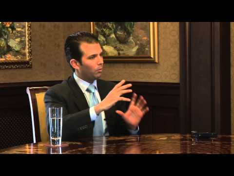 Interview with Donald Trump Jr. (Riga, 19 May 2012)