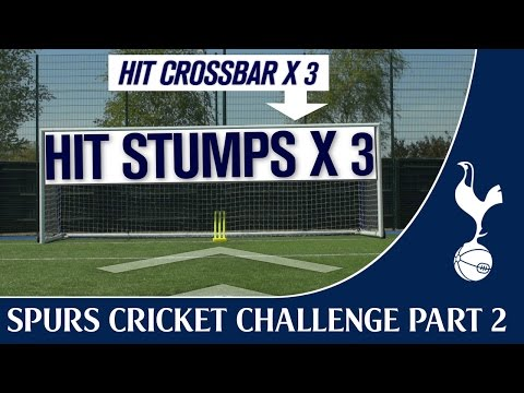 Harry Kane & Stuart Broad vs Tom Carroll & Moeen Ali | Spurs Cricket Challenge Part Two