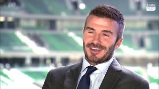 Beckham praises Qatar World Cup facilities on exclusive beIN Sports interview