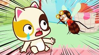 ベビーバスのにんき 蚊にきをつけて | 蚊に刺された | きをつけようのうた | 子供向け安全教育 | 赤ちゃんが喜ぶ歌 | 子供の歌 | 童謡 | アニメ | 動画 | ベビーバス| BabyBus