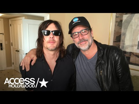 Norman Reedus & Jeffrey Dean Morgan On 'The Walking Dead' S7 Premiere Deaths | Access Hollywood