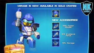 Angry Birds Transformers - Preview Of Mirage