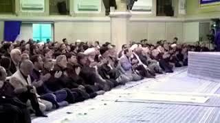 تحشيش رادود ايراني يرقص امام الخامنئي اقرأ الوصف