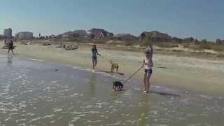 Spring Break 2014, Folly Beach, Charleston SC,  FPV Drone GoPro Hero 3