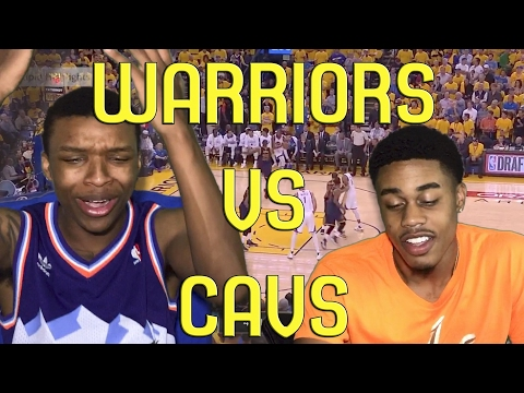 THE TRILOGY!!! WARRIORS VS CAVALIERS 2017 NBA FINALS GAME 1 FULL HIGHLIGHTS AND REACTION!