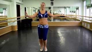Он-лайн уроки танца живота: Baladi (часть 4 лицом)