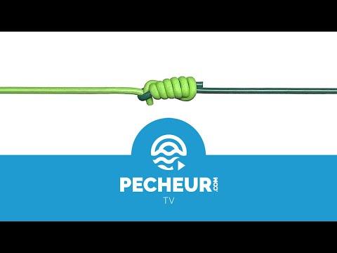 Comment faire un noeud albright ? Tutoriel Pecheur.com