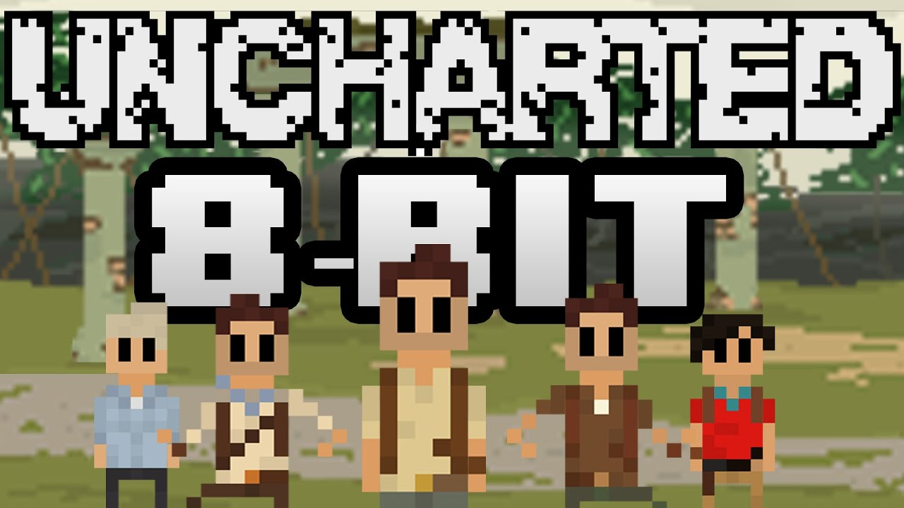 Uncharted Trilogy: 8-Bit Title Screen - YouTube