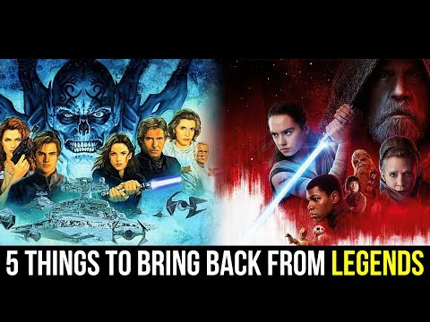 5 Things to Bring Back from the Star Wars Expanded Universe